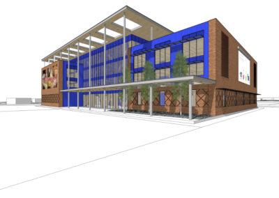 In Progress – Net-Zero Academic and Office Building